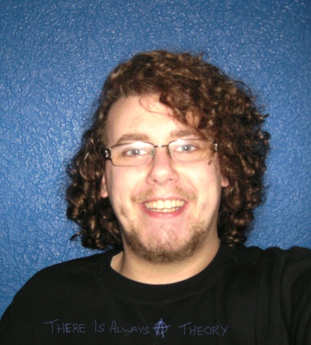 Look it is that bearded weirdo Michael Wharton